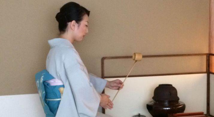 הצצה לטקס התה היפני