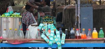 אוכל רחוב צמחוני במומבאי