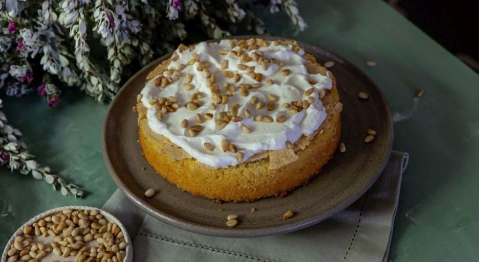 עוגת פולנטה לימון של הבייקרי