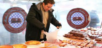בוקר שבת קולינרי בשוק מובר (Maubert)