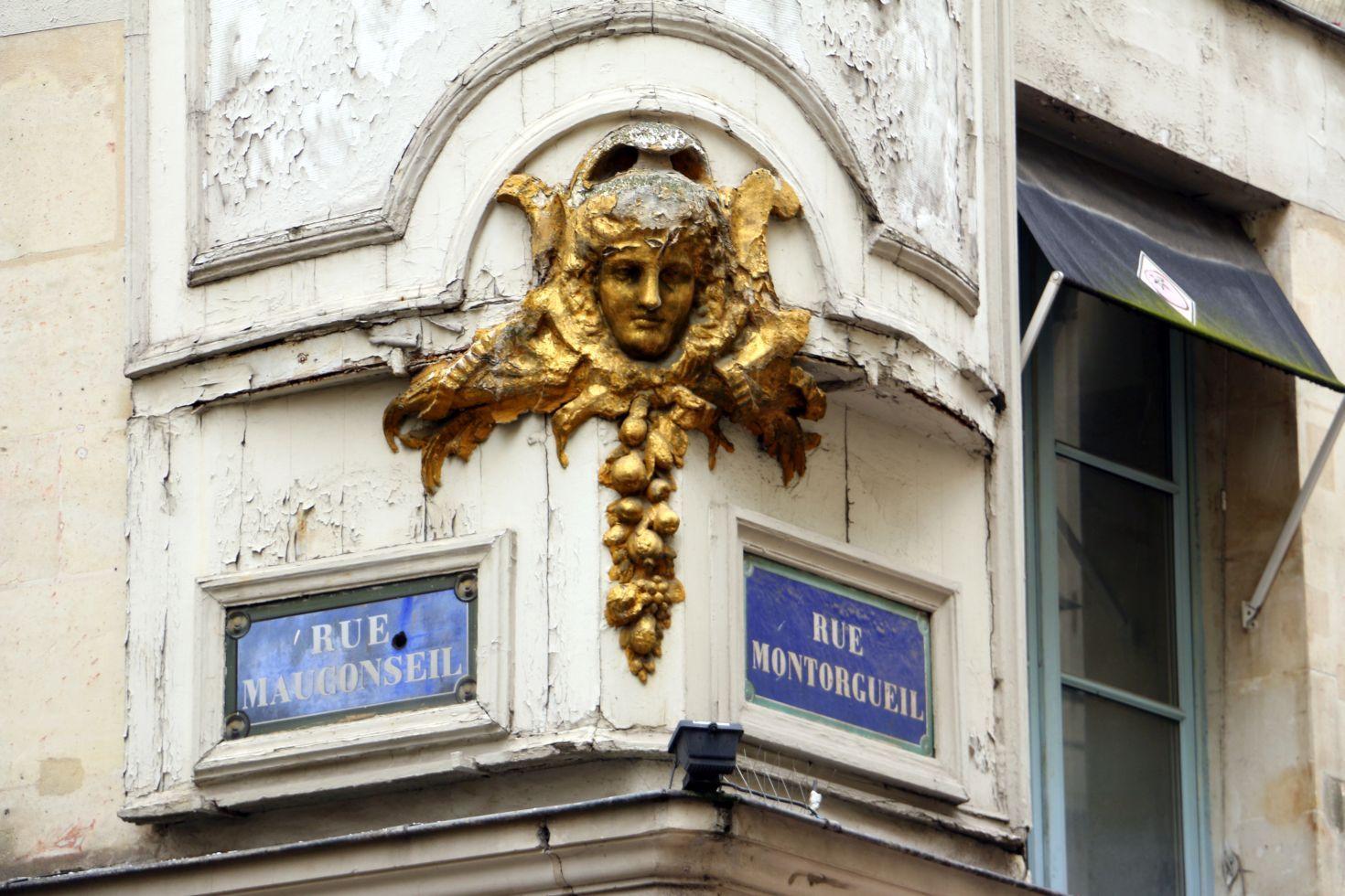 רחוב מונטורגיי. מהאזורים המרתקים ברובע הראשון והשני של פריז