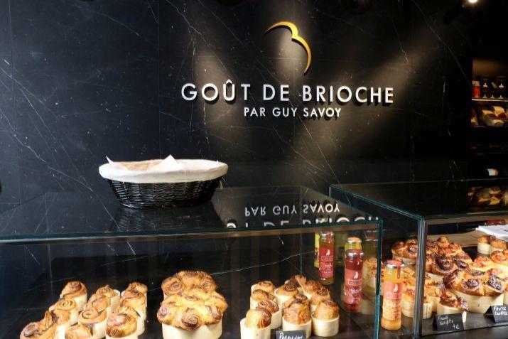 הוויטרינות של Gout De Brioche. צילום: שרון היינריך