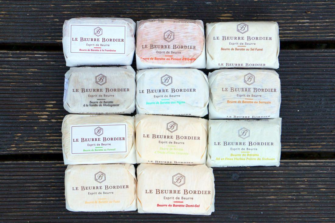 חמאה בטעמים של בורדייה
