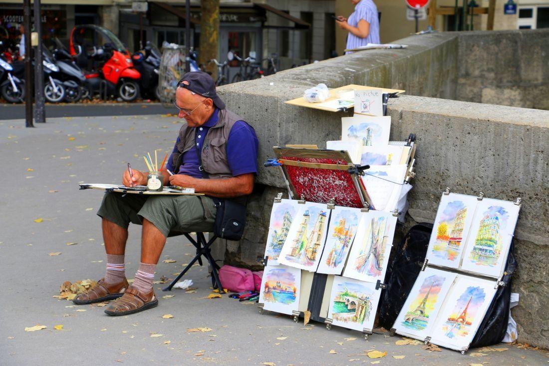 רומנטיקה ברחובות פריז