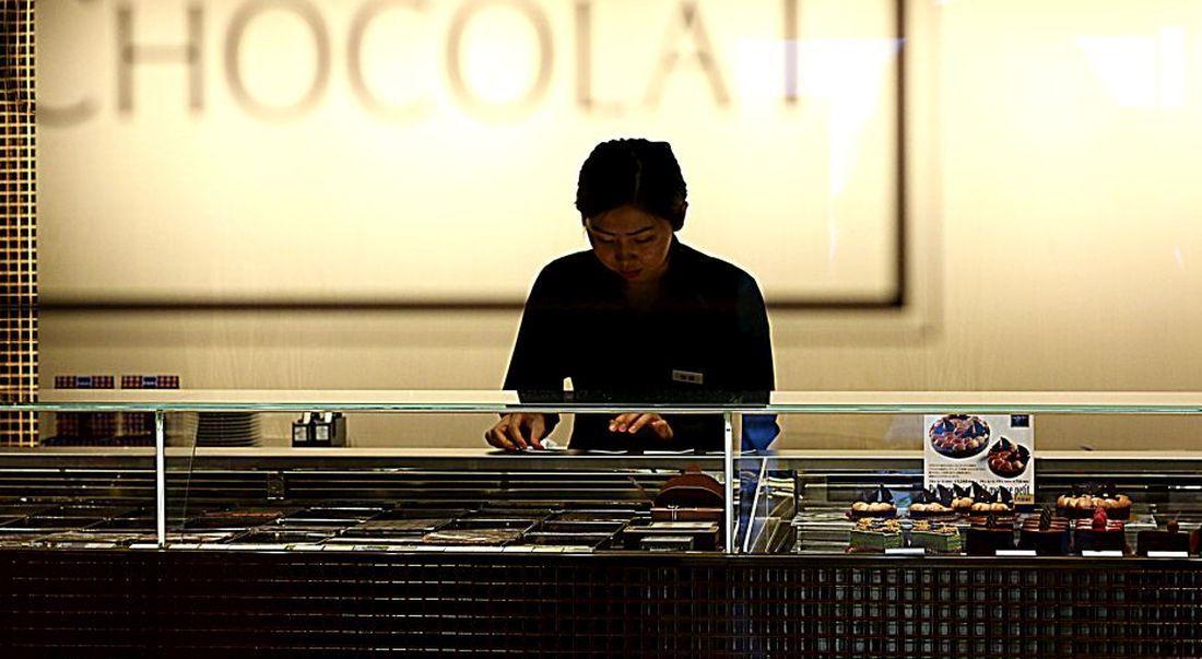 בר השוקולד של ז'אן-פול אבה בקיוטו