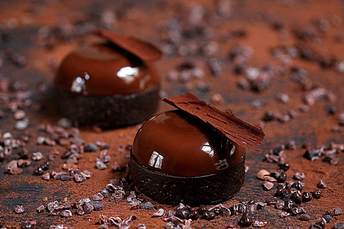 טארט השוקולד העשיר של קוברור