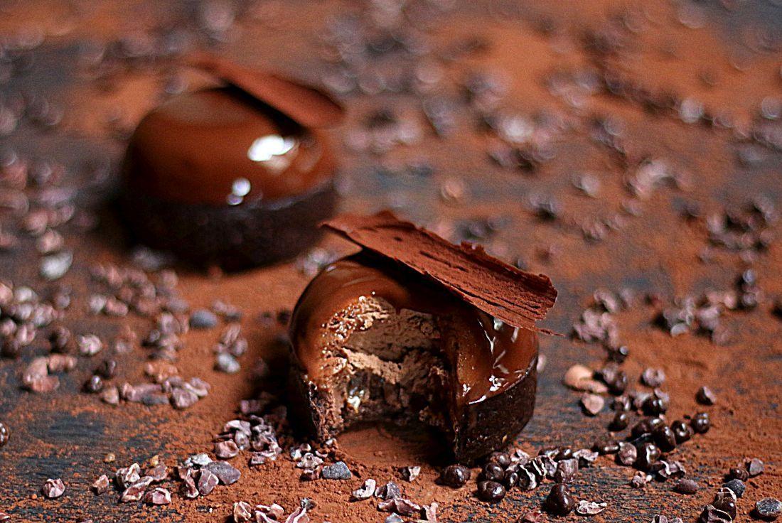 טארט השוקולד של קוברור. שילוב טעמים ומרקמים נהדר