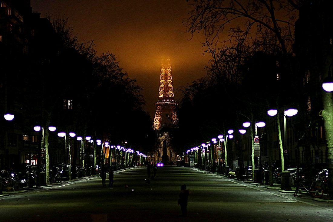 עיר האורות בערב חורפי