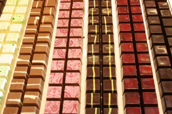 מרבד של שוקולד. צילום: שרון היינריך