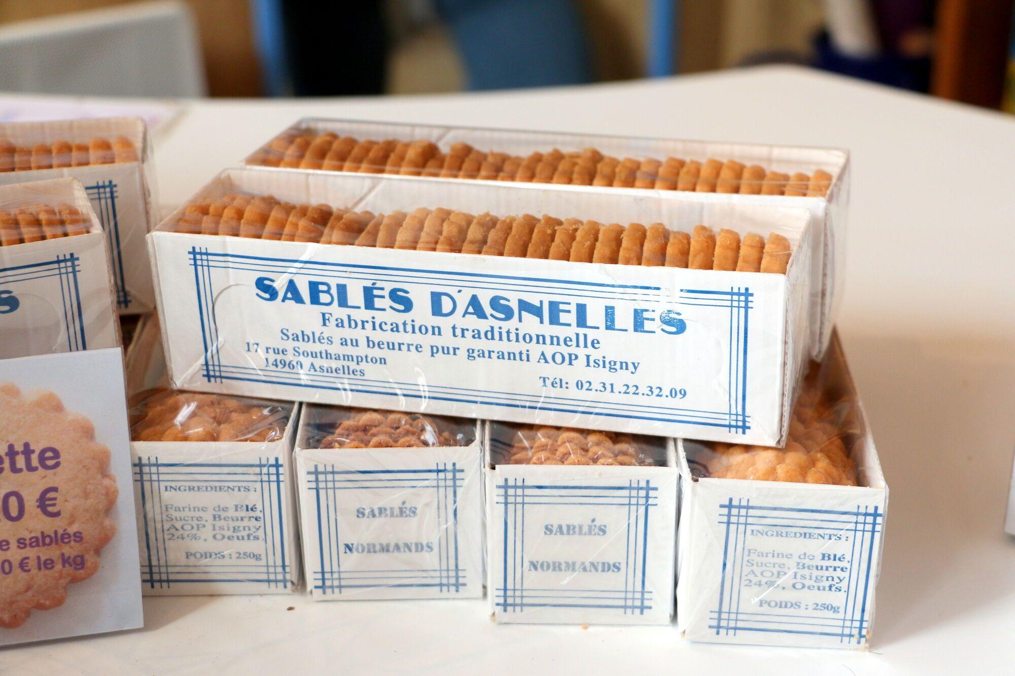 עוגיות סבלה של Les Sables D'asnelles