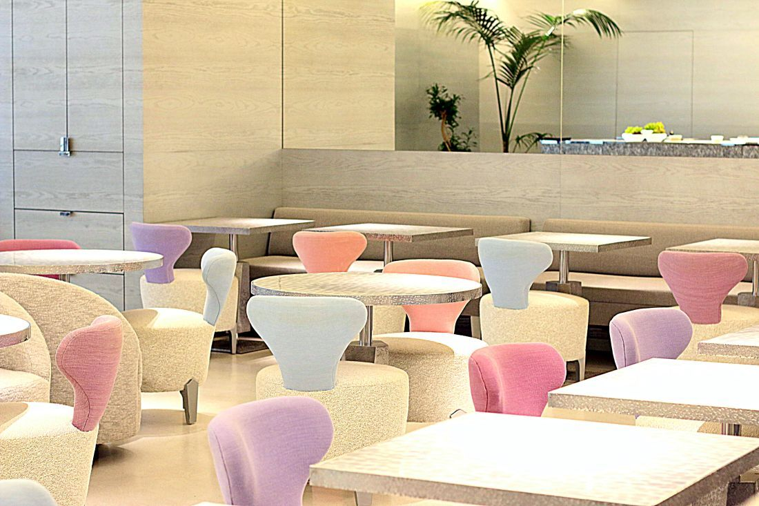 Cafe Dior by Pierre Herme, אזור ישיבה
