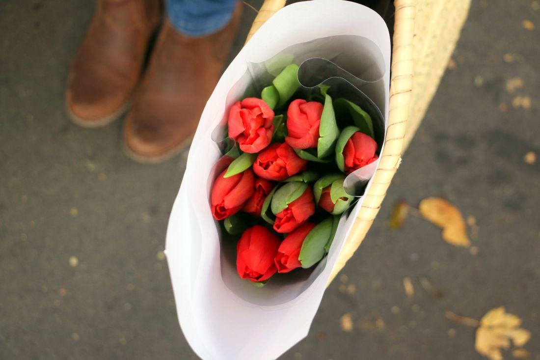 פרחים מקסימים  משוק גרנל בפריז