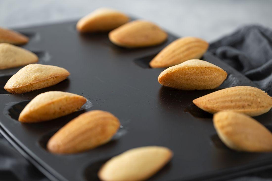 עוגיות המדלן המוכנות