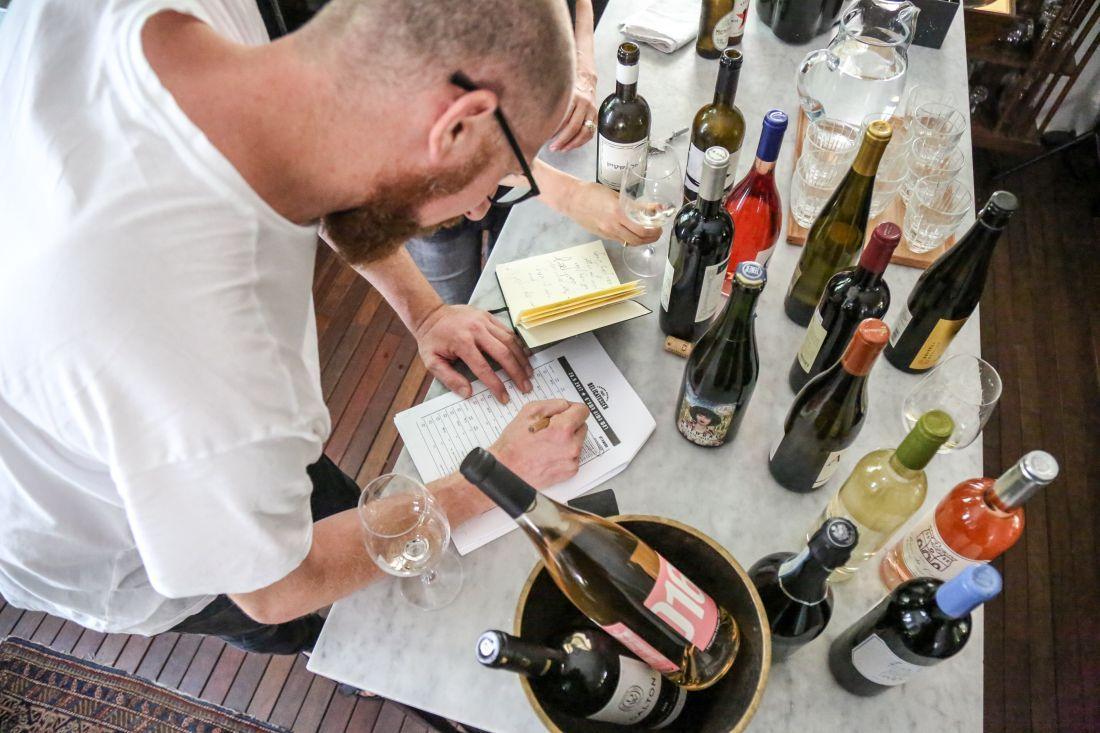 טעימות יין לתפריט ראש השנה בדליקטסן