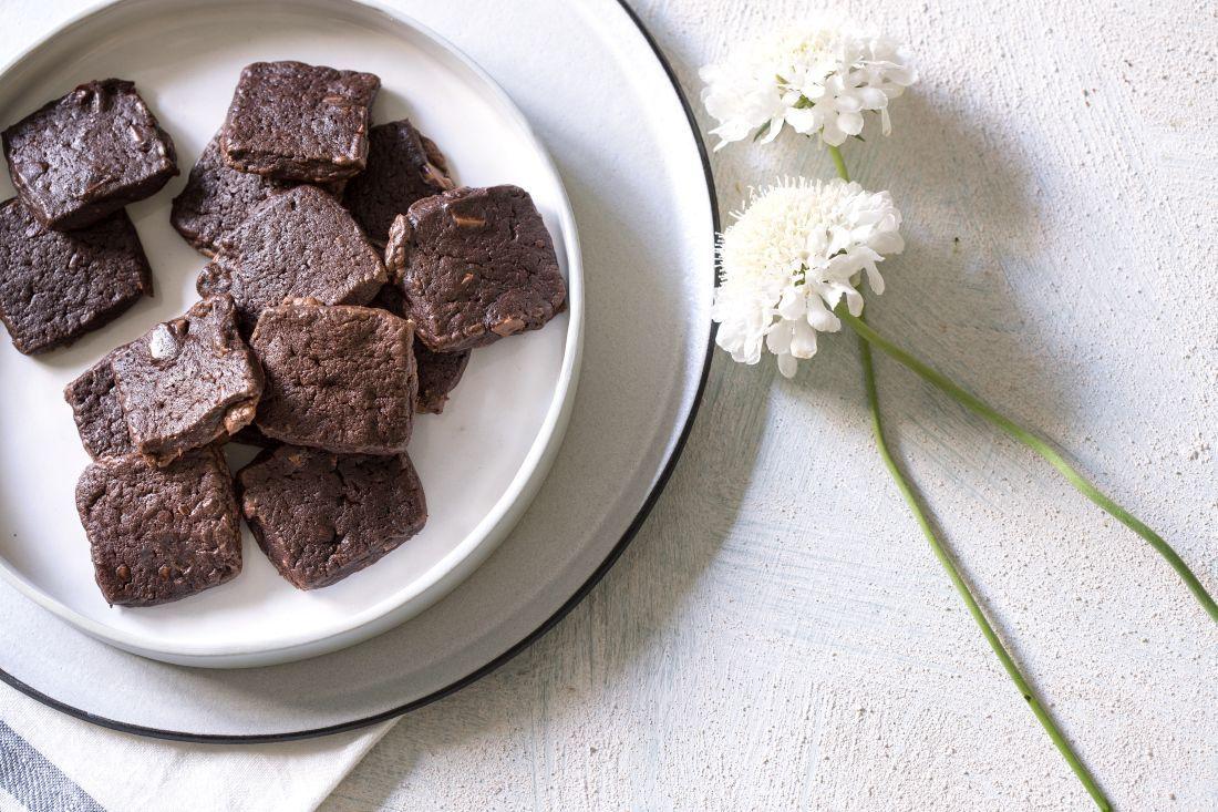 עוגיות פאדג' שוקולד נטולות גלוטן של הבייקרי