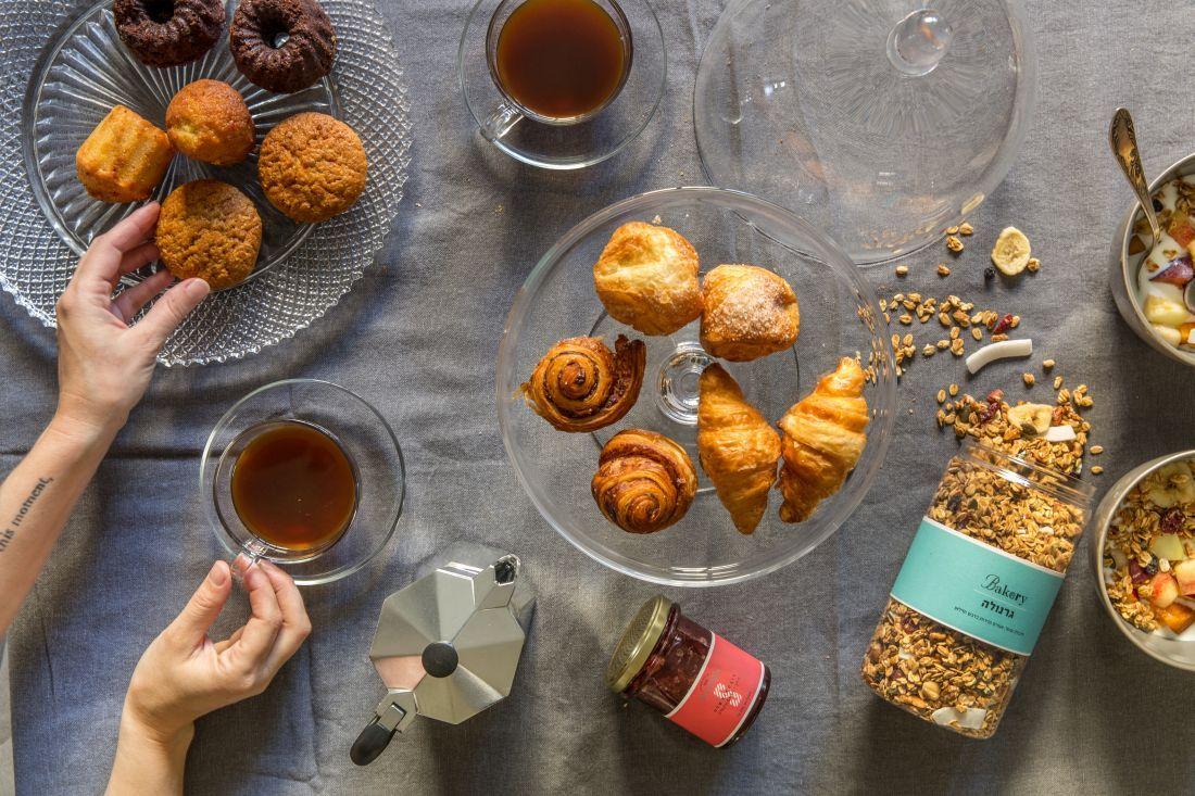 הקפה (או התה) והמאפים ילוו אתכם אל תוך אחר הצהריים