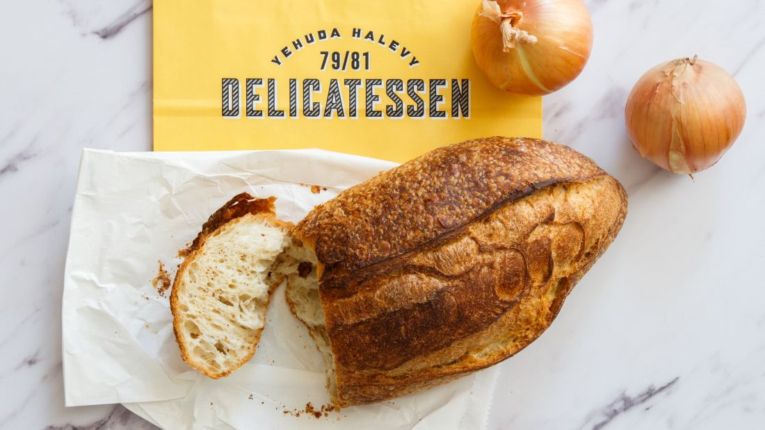 לחם טוב מהדליקטסן, לניגוב הרוטב