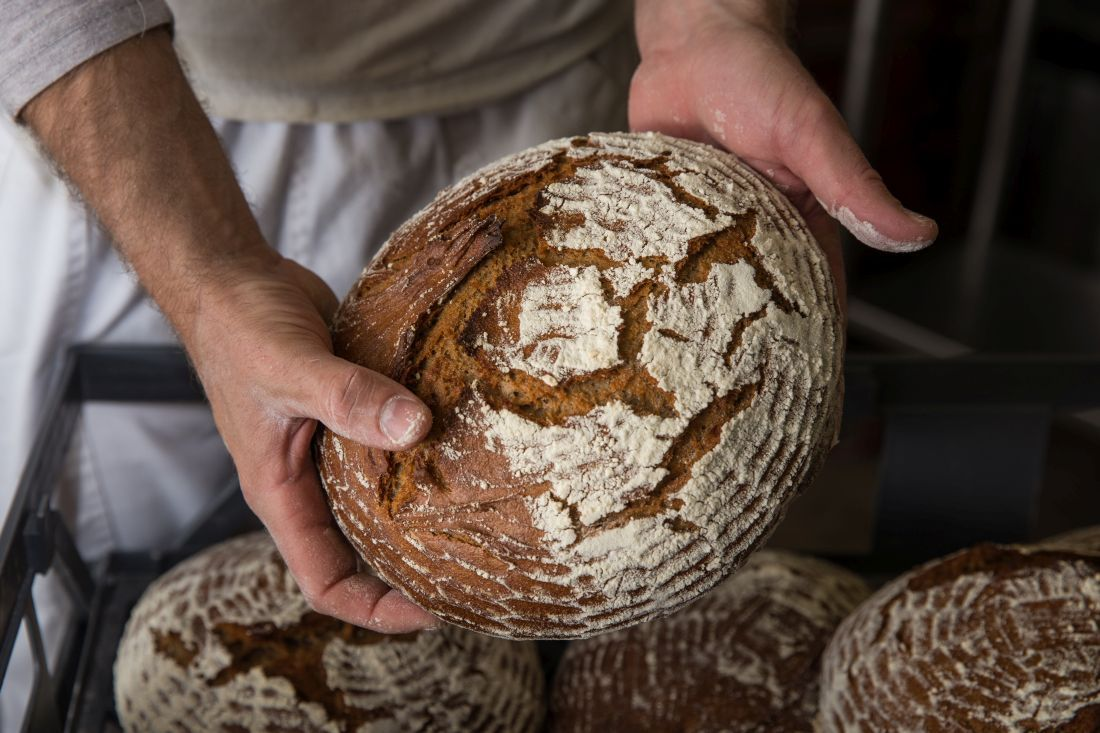 לחם מחמצת שיפון 90%