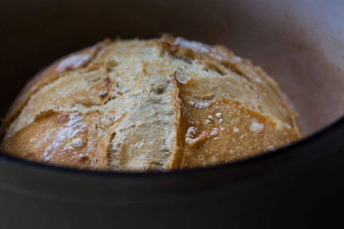 לחם לבן בהתפחה ארוכה