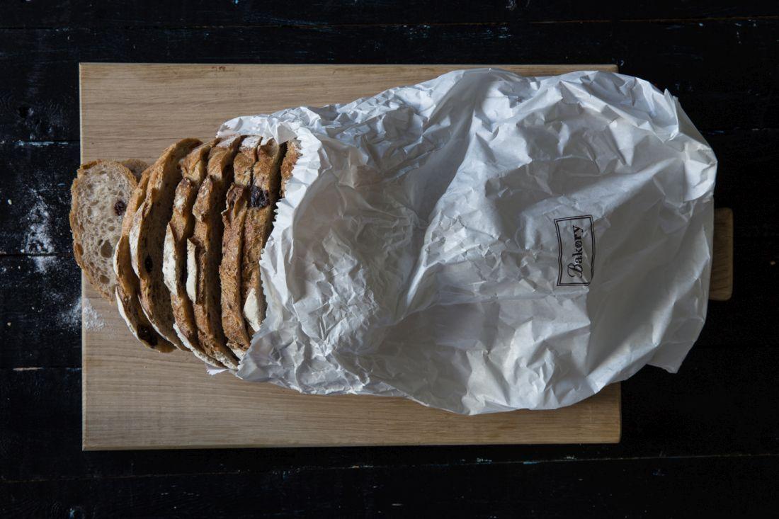 לחם מחמצת שיפון זיתים של הבייקרי