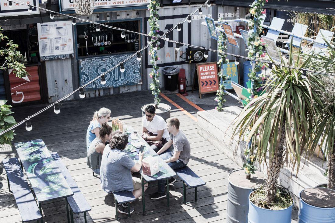 Pop Brixton, פרויקט קהילתי ומקום טוב לצהריים