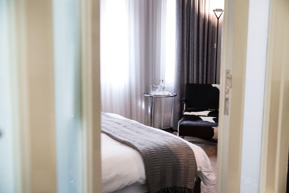 חדר במלון הוטל מונטיפיורי 1