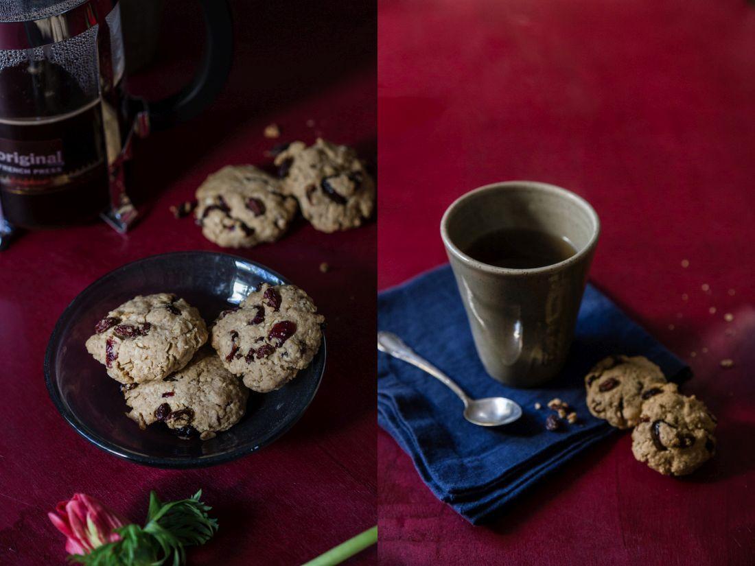 עוגיות גרנולה. הולכות טוב עם משקה חם