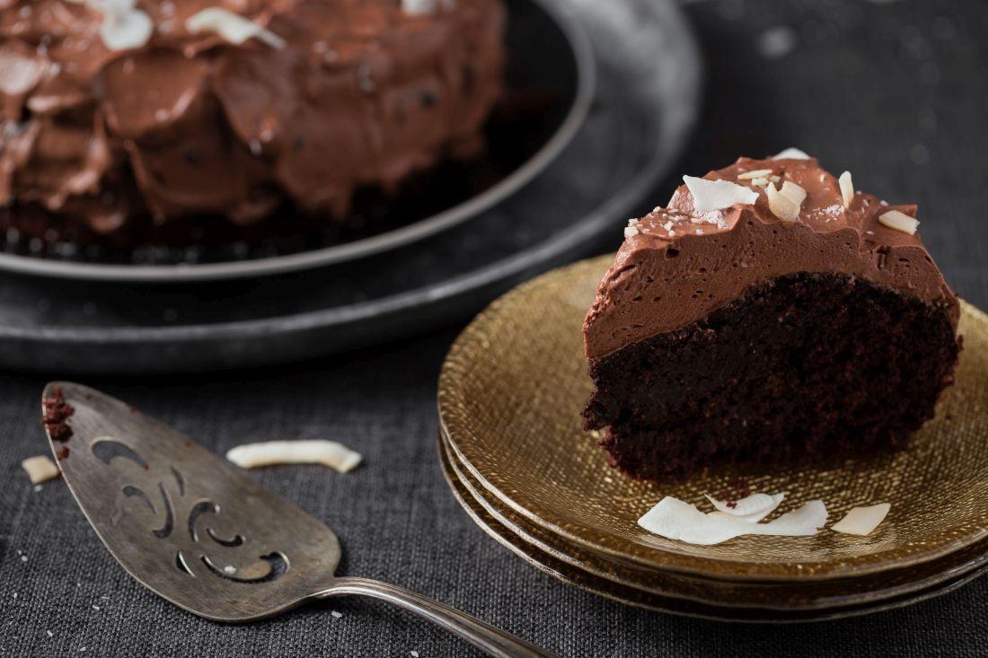 עוגת השוקולד והקוקוס, הצעת הגשה