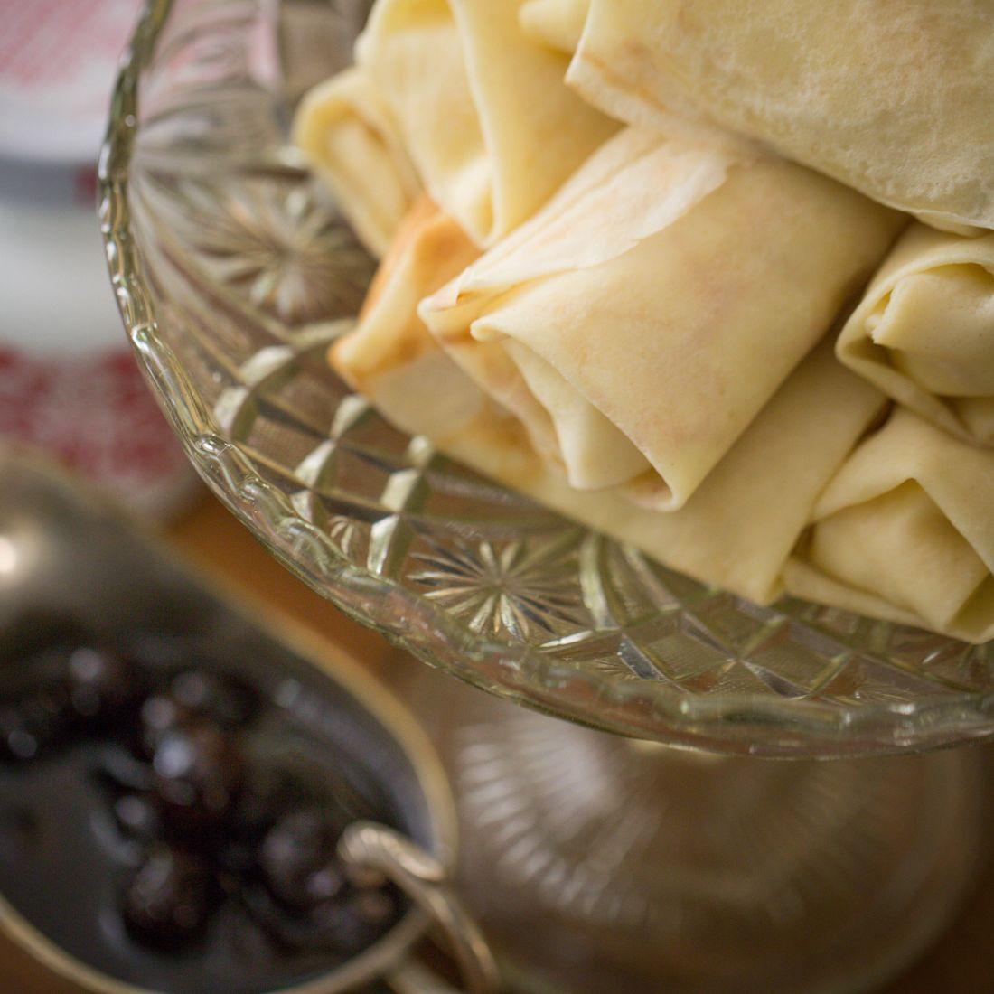 הקרפים במילוי גבינה מתוקה