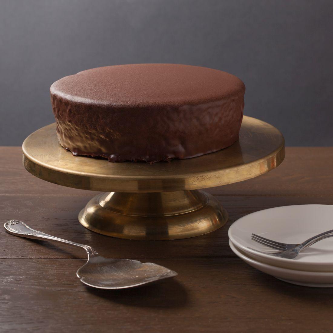 עוגת שוקולד של הבייקרי, 100% שוקולד וולרונה בציפוי גנאש