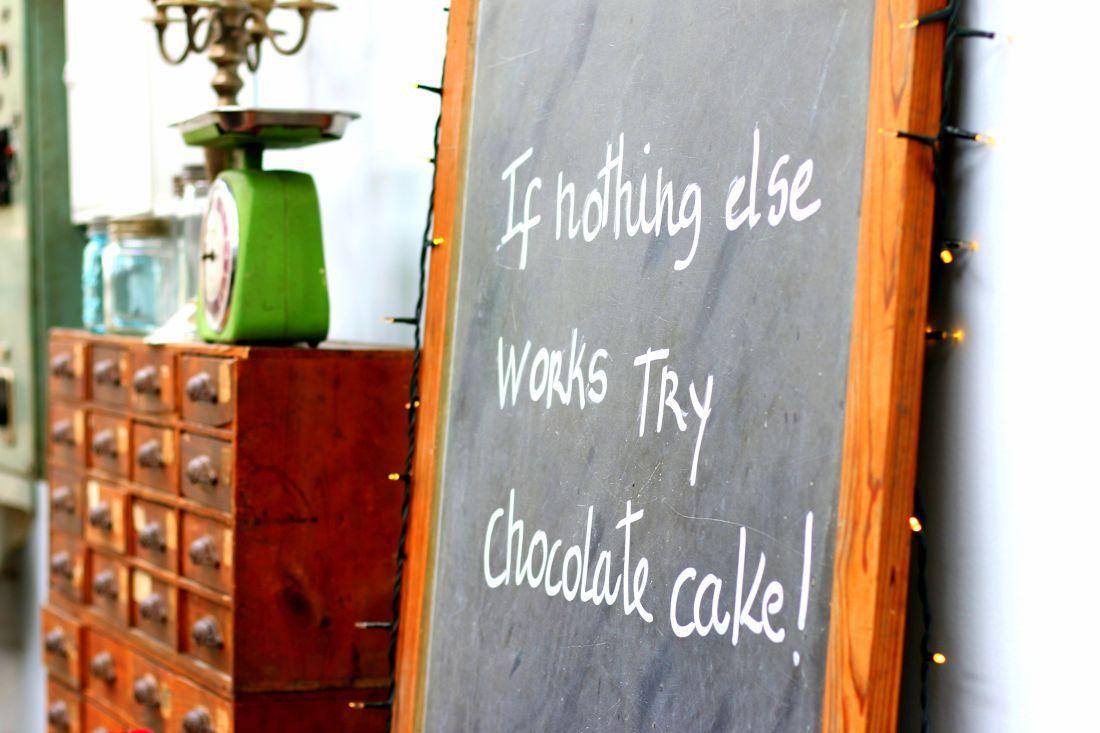 בבית הקפה Landeau מוכרים את עוגת השוקולד הטובה בעולם