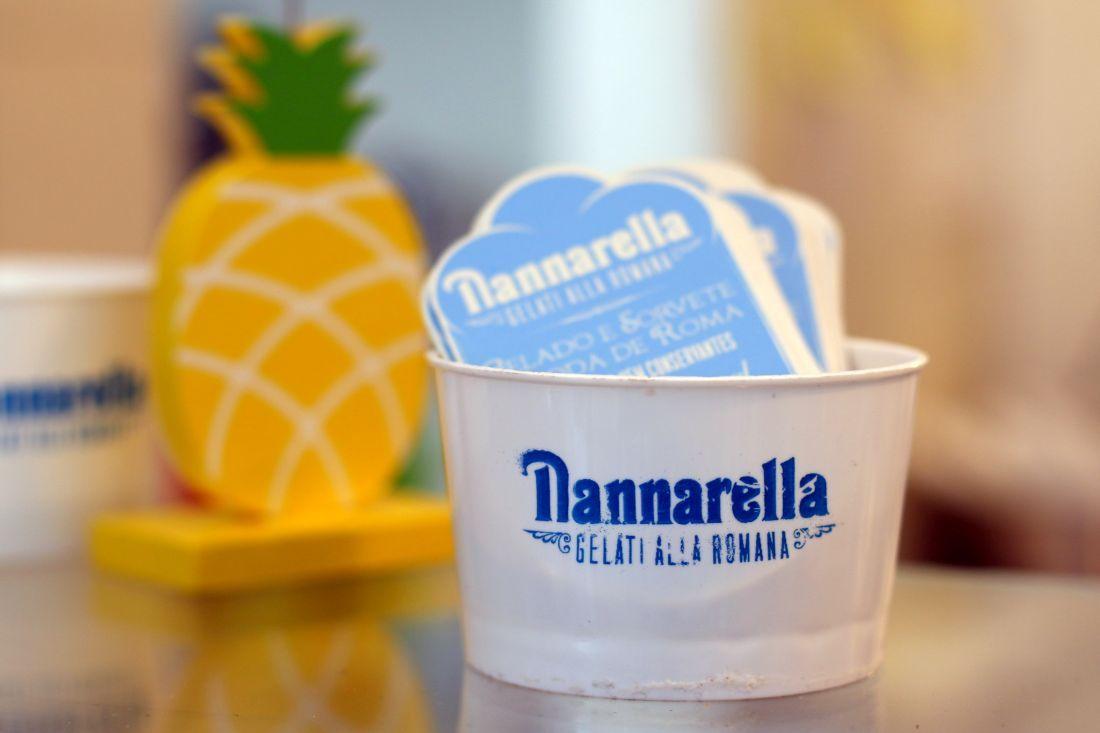Nannarella, בתוך החנות
