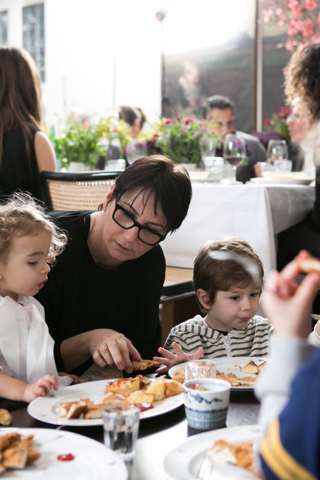 הילדים אכלו שניצלים