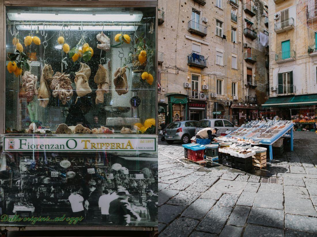 דוכן דגים בשוק בנאפולי 3