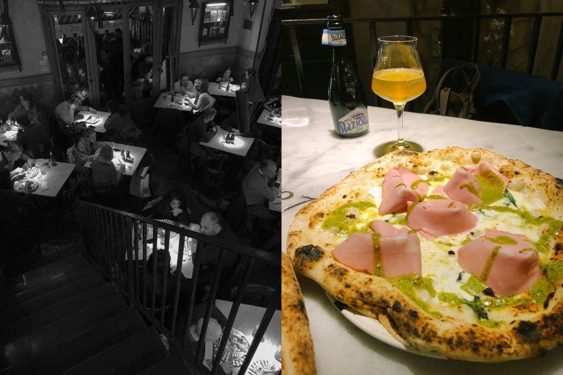 Pizza Sorbillo, אחת הפיצריות המפורסמות של נאפולי