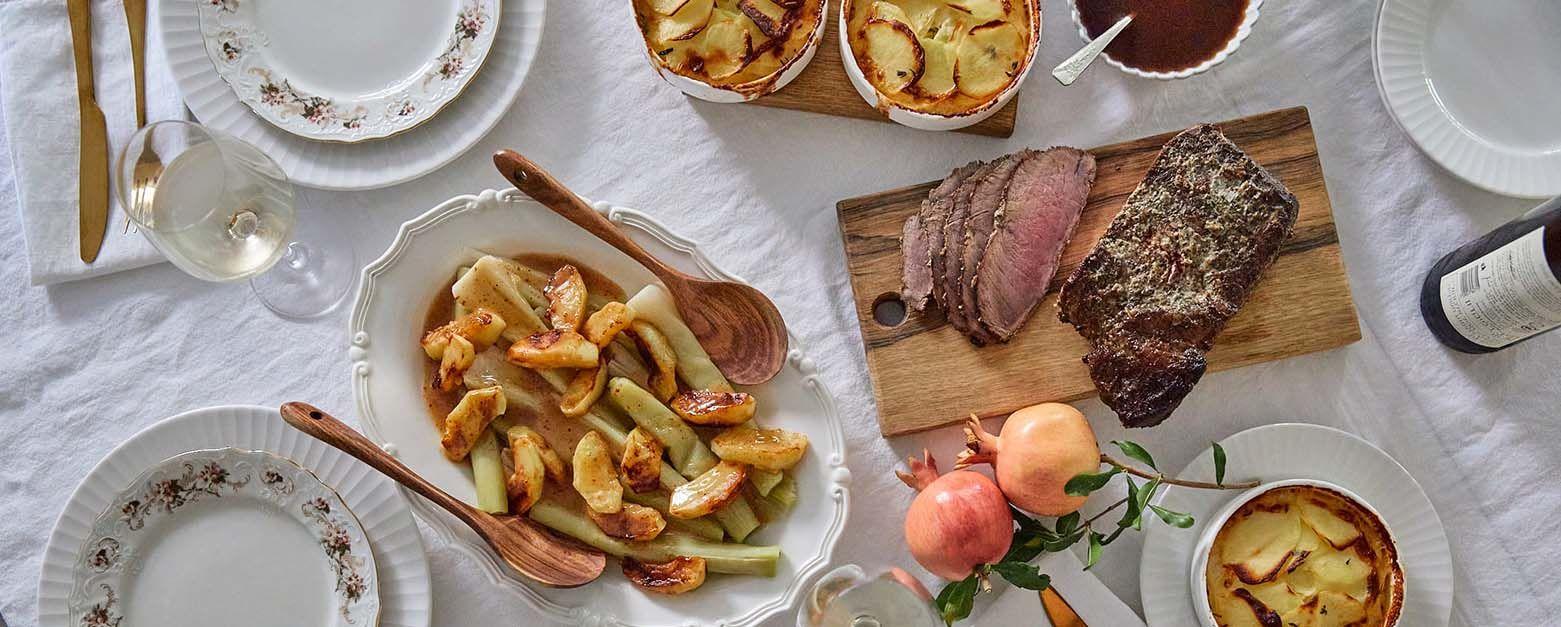 ארוחת ראש השנה של הדליקטסן