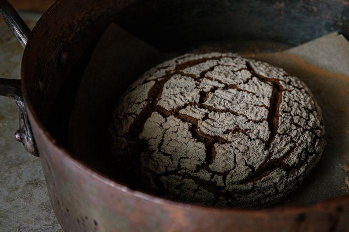 מתכון ללחם שיפון עם מחמצת ובצק ישן